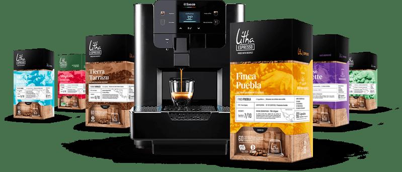 La gamme capsules Litha Espresso