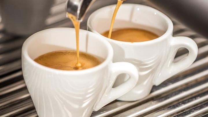 Tasses café grains