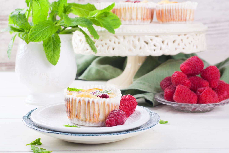 Ricotta mini cheesecake